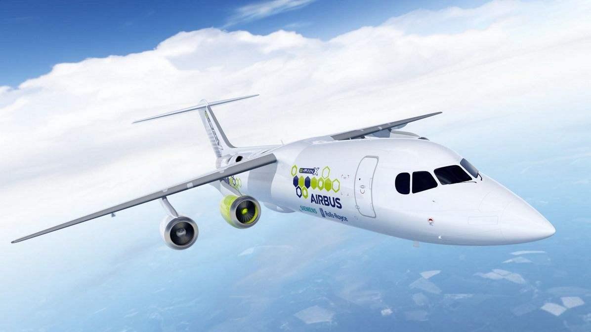 Airbus, Rolls-Royce, Siemens launch E-Fan X