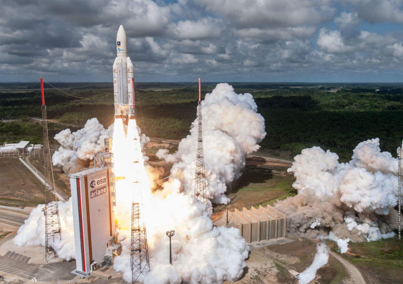 Ariane 5 launches four more Galileo satellites