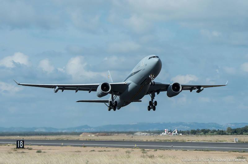 Phénix flies first French AF mission