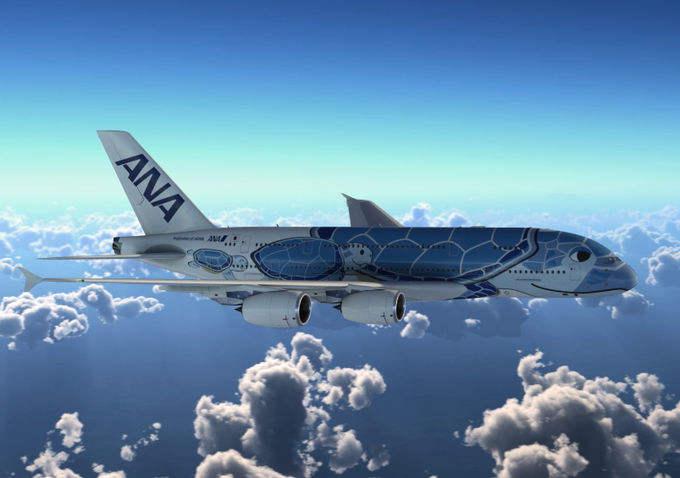 ANA unveils special A380 livery