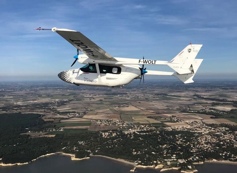 VoltAero's Cassio 1 flies thanks to its hybrid electric module