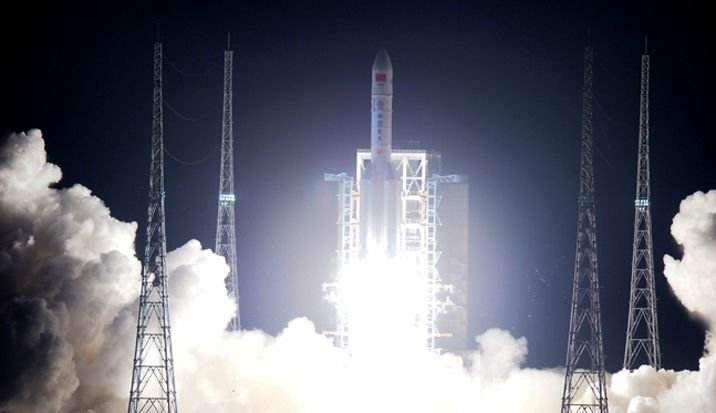 Inaugural launch success for China's Long March 5