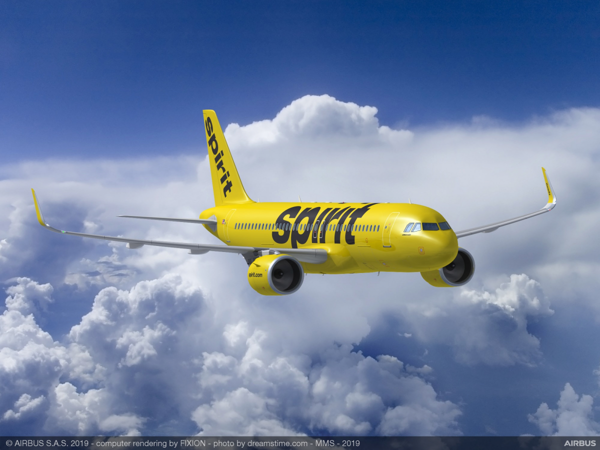 Spirit Airlines signs for 100 more Airbus A320neo aircraft