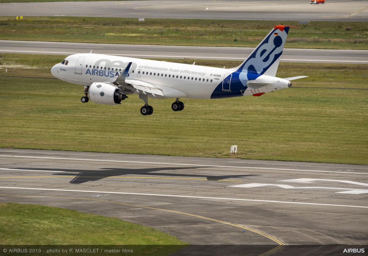 Pratt & Whitney certified on Airbus A319neo