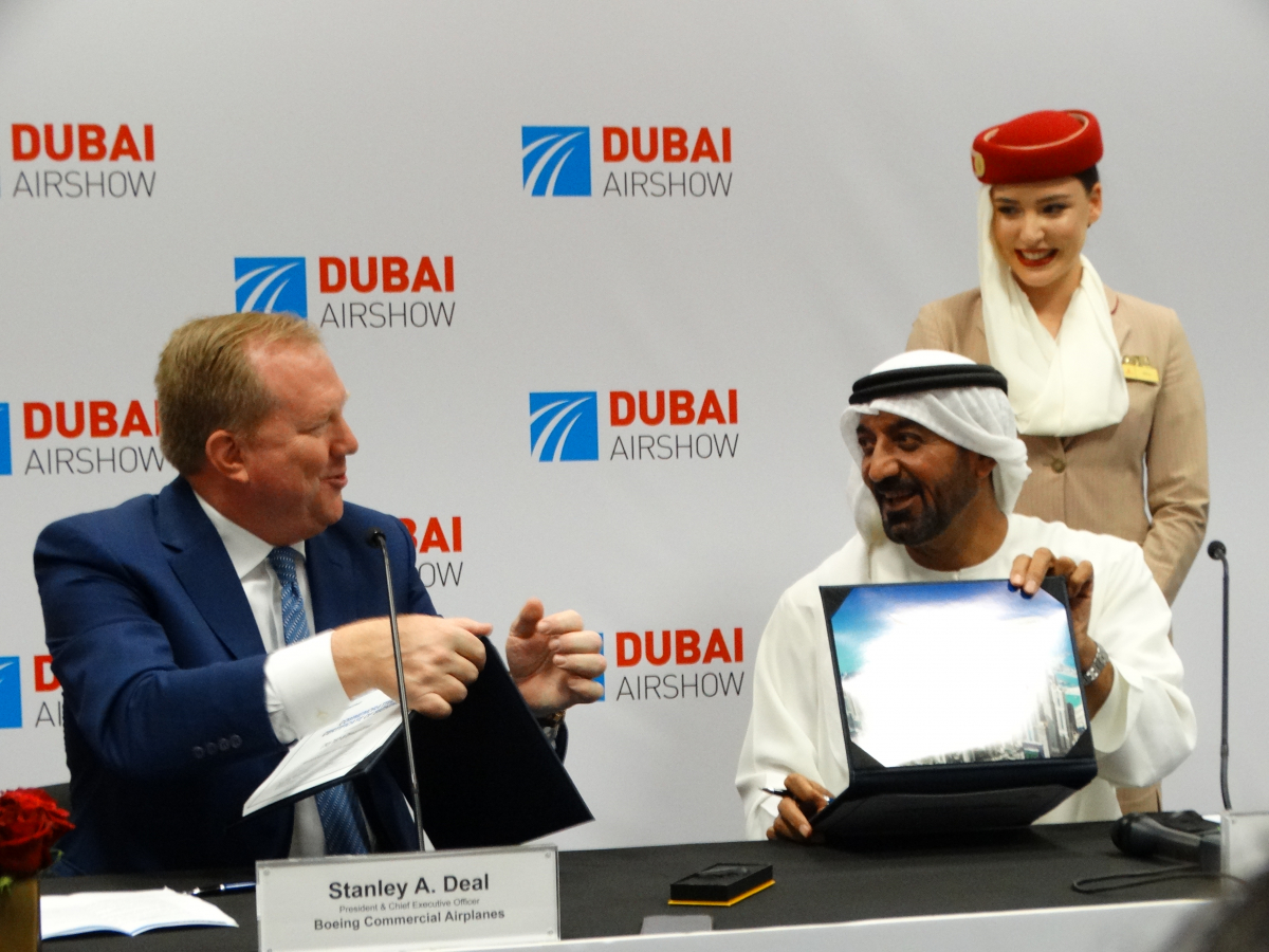 Dubai Airshow 2019: Emirates confirms an order for 30 Boeing 787-9s