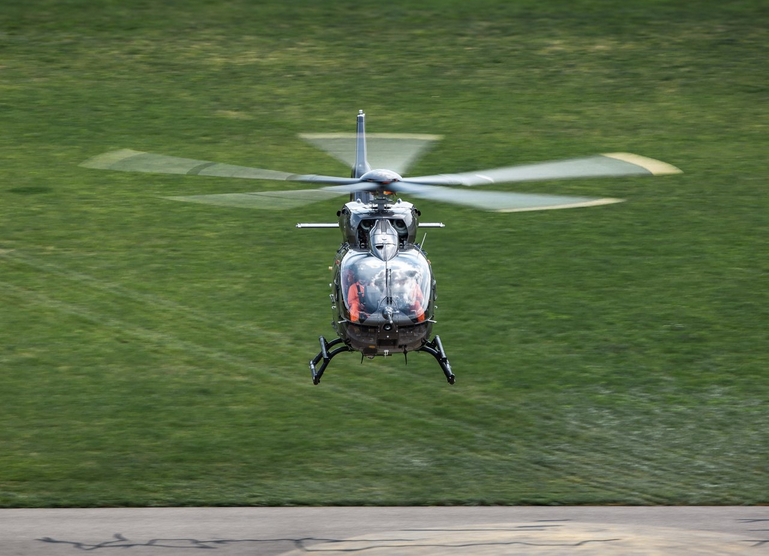 Second Airbus five-bladed H145 prototype performs maiden flight
