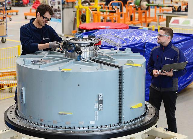 Rolls-Royce starts power testing of UltraFan gearbox