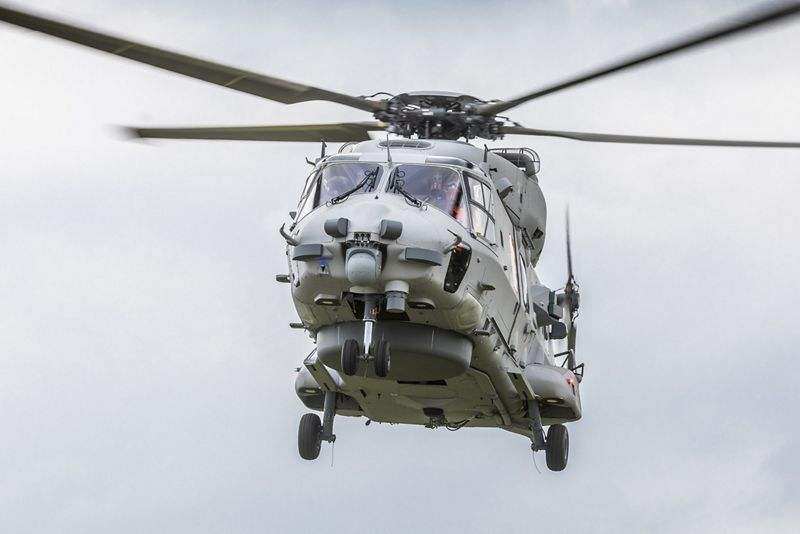 Airbus: German Navy NH90 on course for delivery target