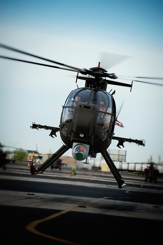 AH-6i helicopters for Thailand