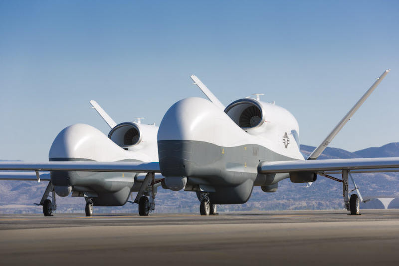 U.S. Navy approves Triton UAS for production