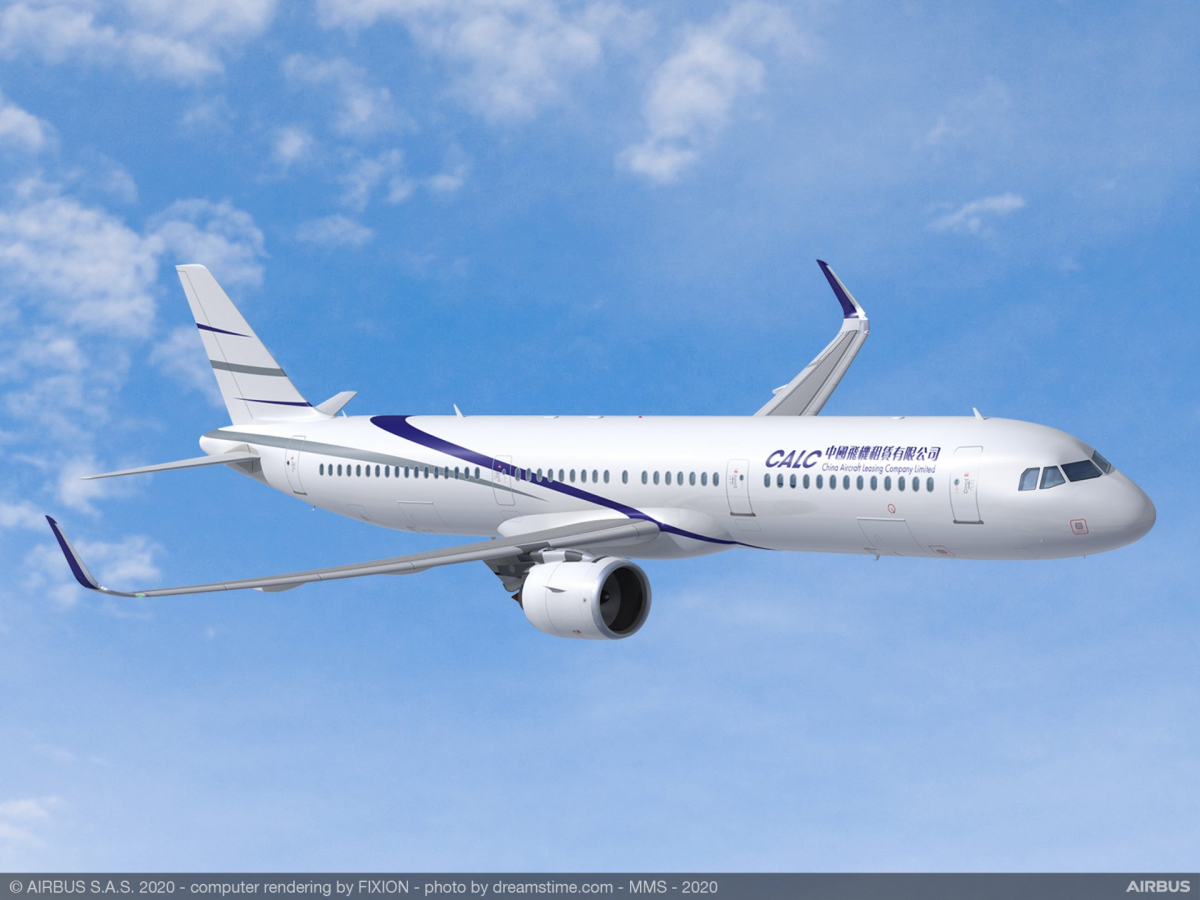 55 additional A321neo aircraft for CALC