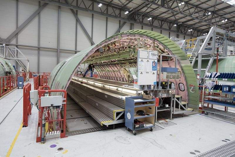 Airbus A330-800 production under way