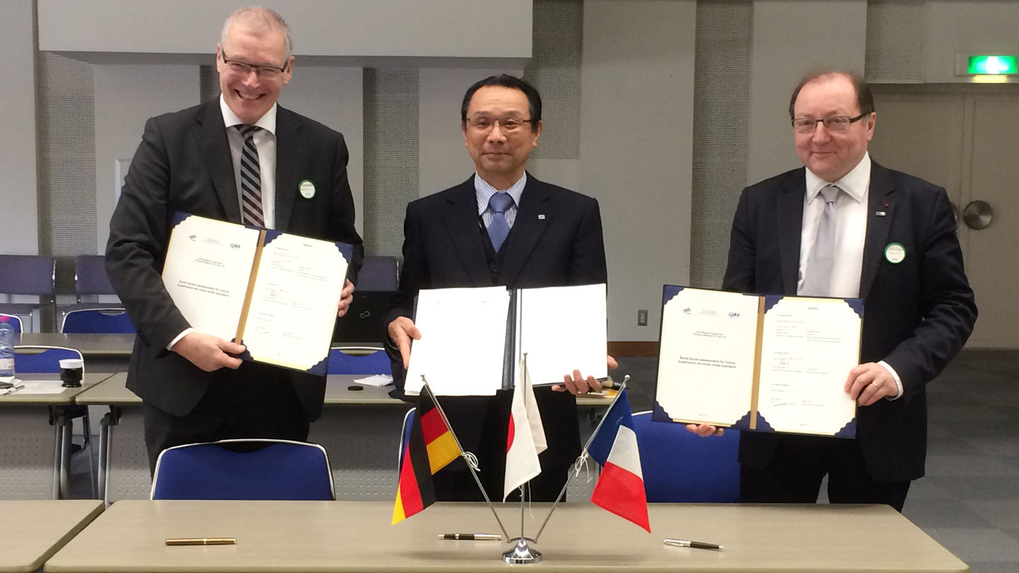 Germany, France, Japan cooperate on aeronautical research