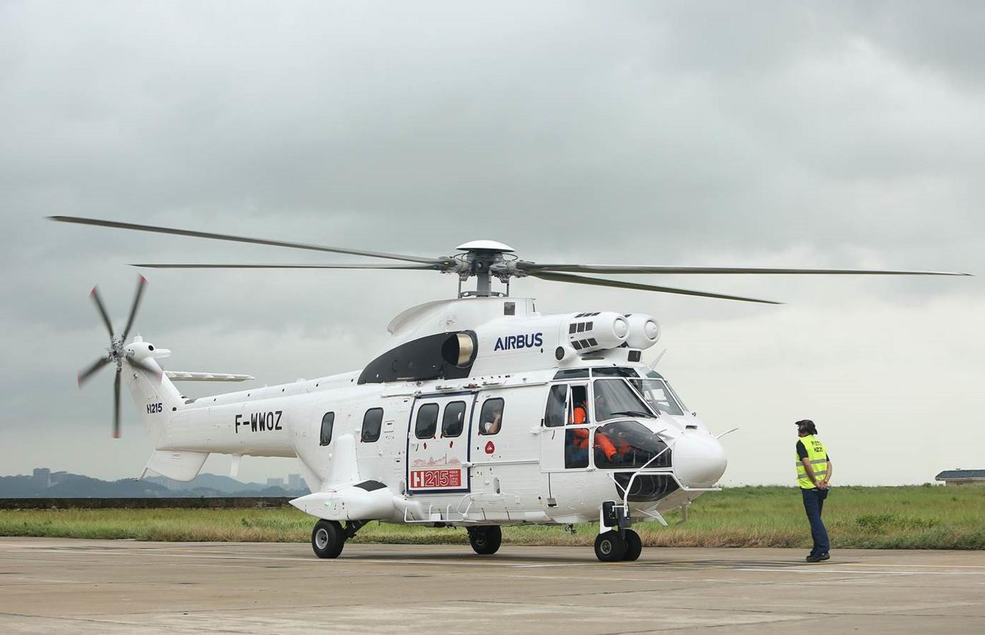 Airbus Helicopters H215 starts China demo tour