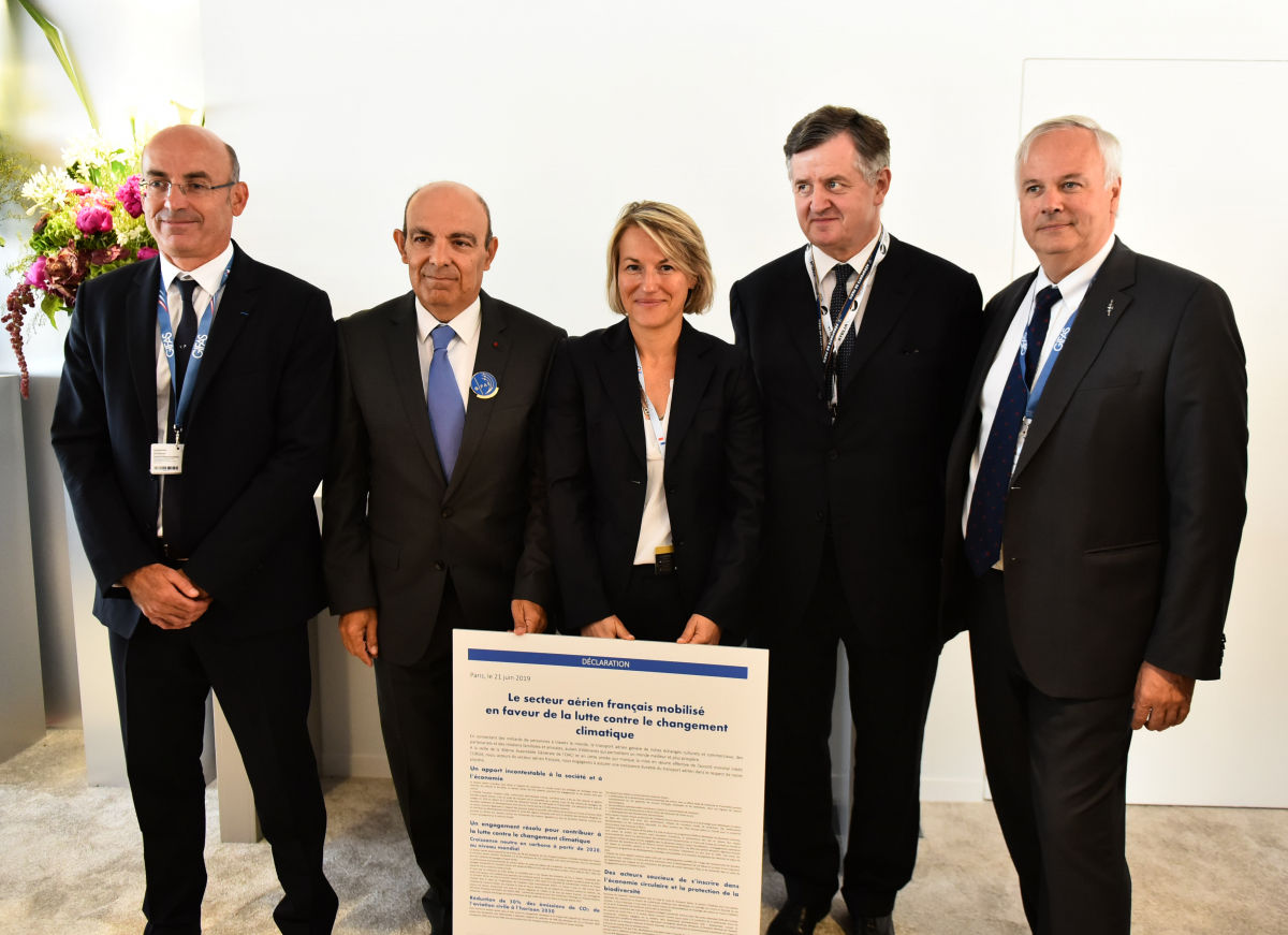 Paris Air Show 2019: French air transport reasserts its commitment to environment