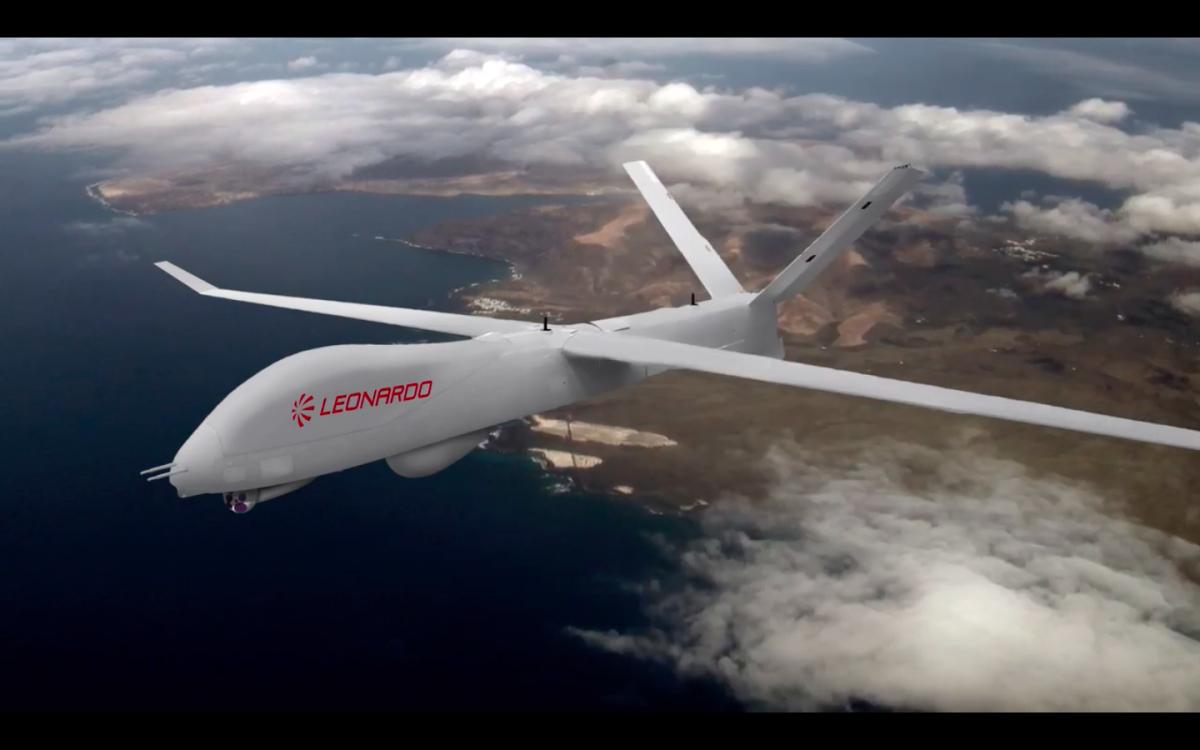 Successful maiden flight for Leonardo's Falco Xplorer