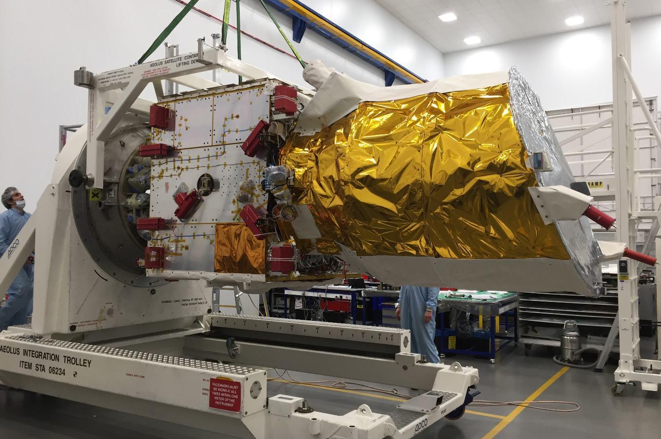 European wind satellite ready for final testing