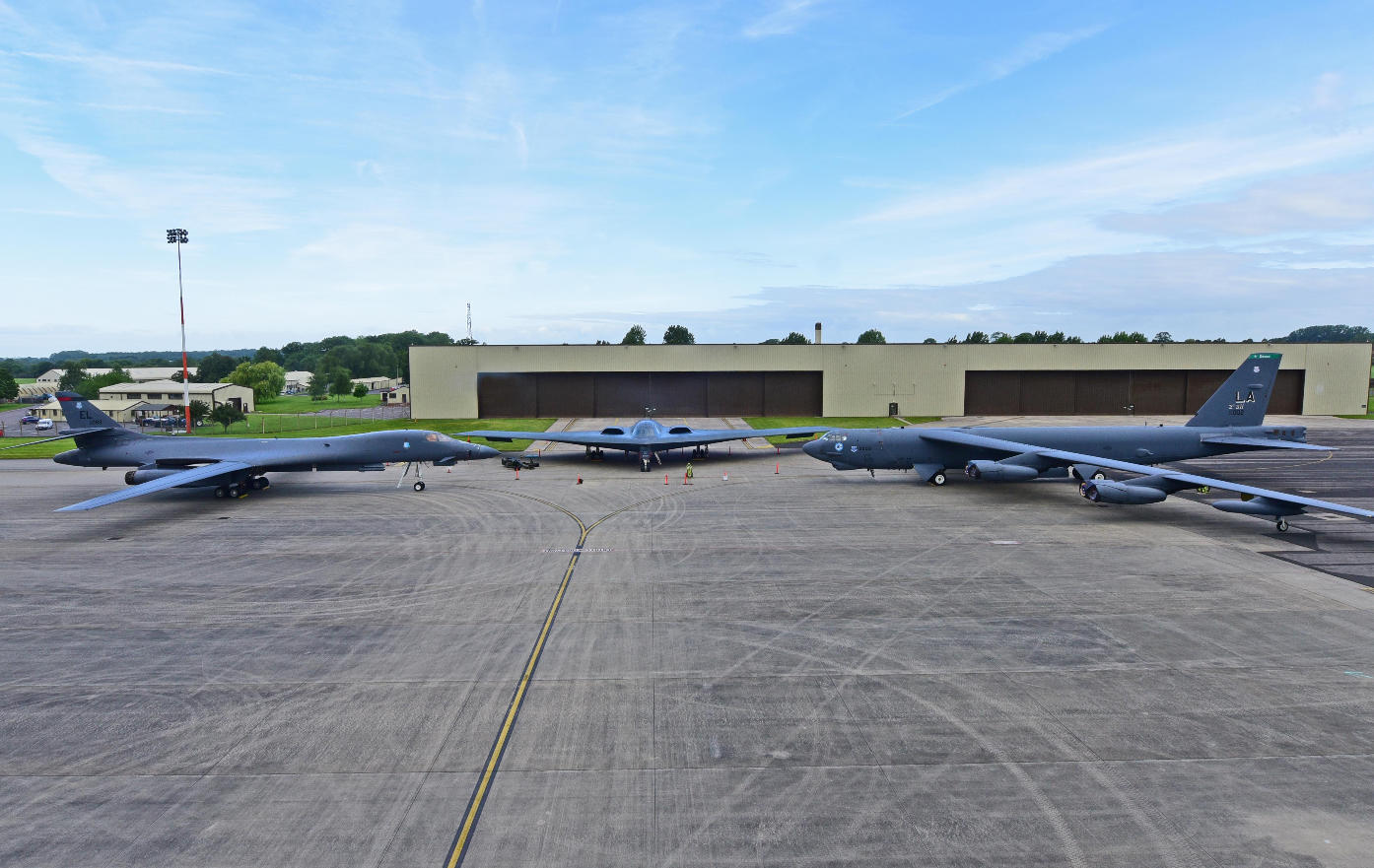 USAF bombers deploy to Europe