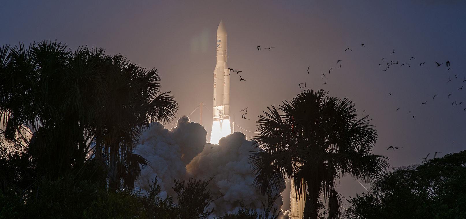 Ariane 5 launches 200th satellite