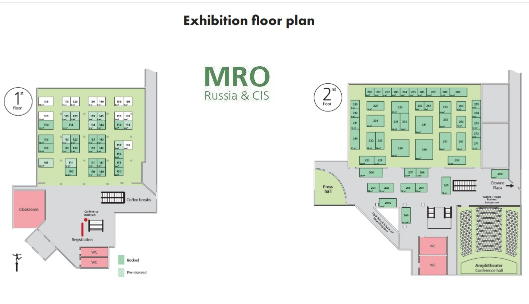 MRO Russia & CIS 2020 exhibition offers you effective business opportunities over just 2 days