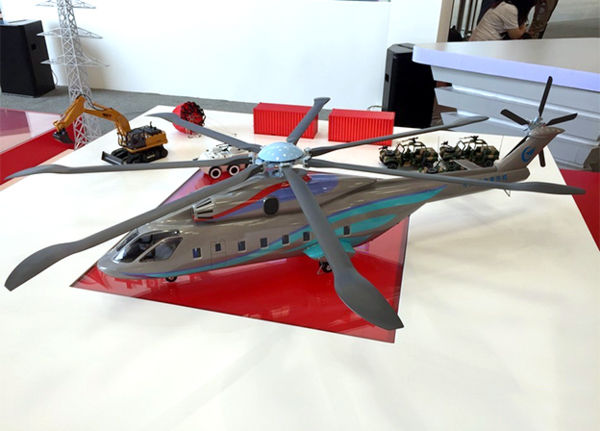 Russia, China discuss heavy-lift helicopter project