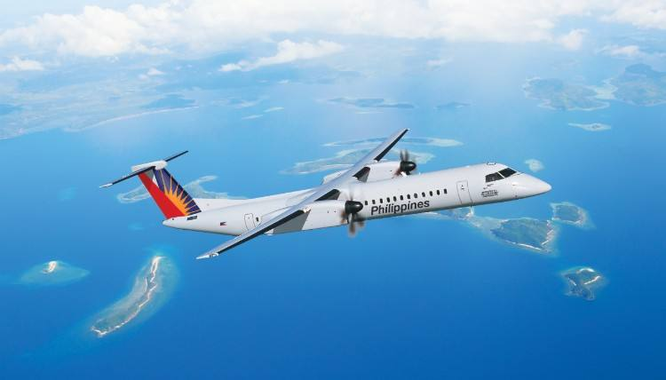 Philippine Airlines gets first two-class, 86-seat Q400