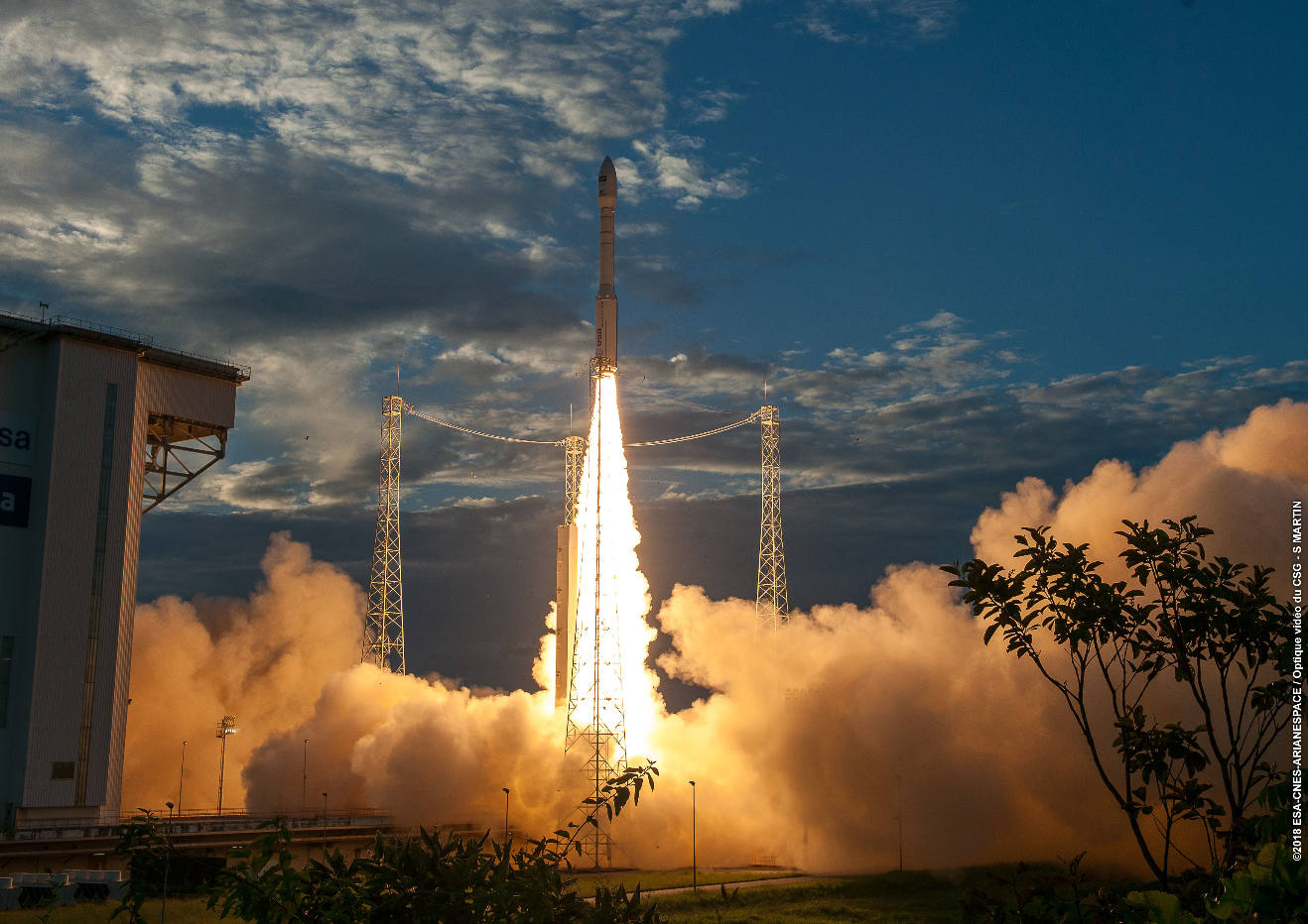 Arianespace to launch Korea's KOMPSAT-7