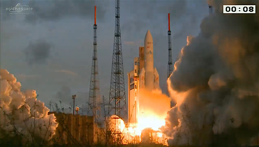 Ariane 5 completes third successful mission in 2016