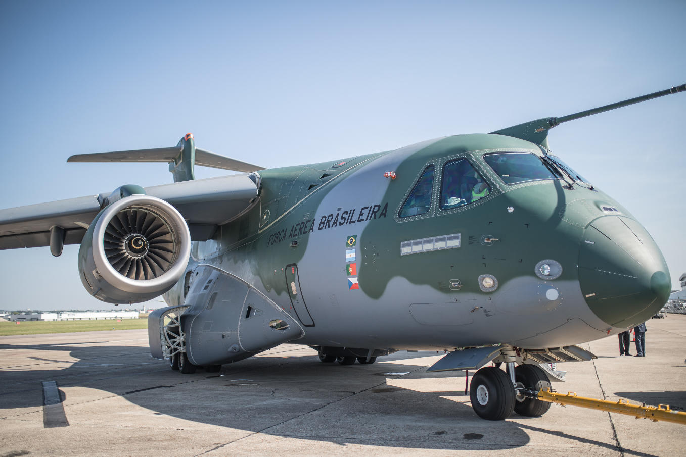 KC-390 flight testing moves to U.S.