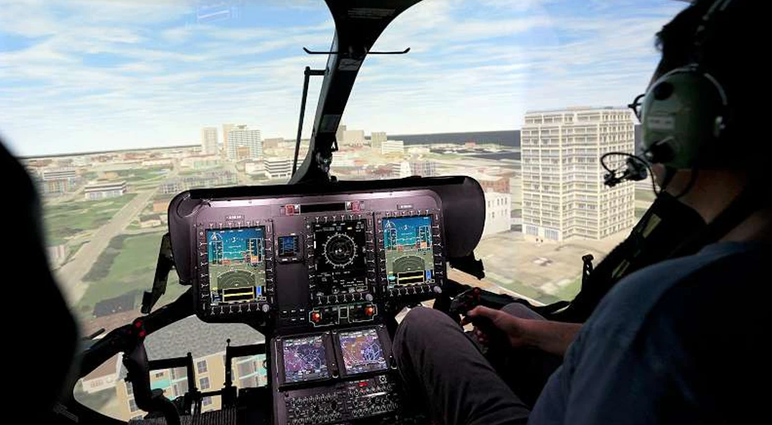 The first H160 flight simulator is ready