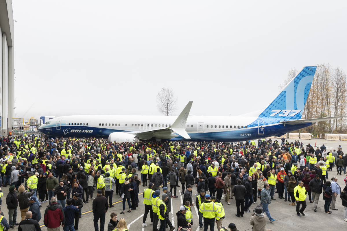Boeing announces debut of the 737 MAX 10