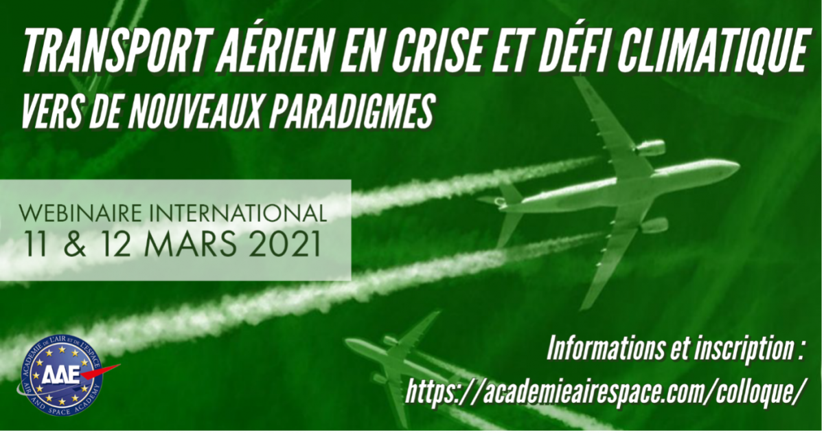 Air transport in crisis and climate challenge. Towards new paradigms?