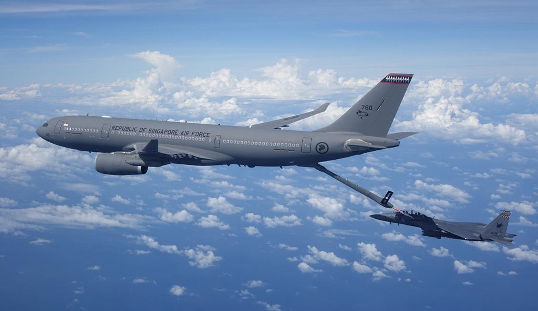 Singapore collaborates with Airbus on Automatic Air-to-Air refueling solutions