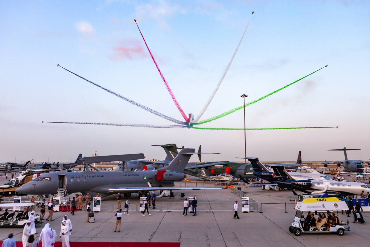 The Dubai Airshow bets on the Covid-19 successor