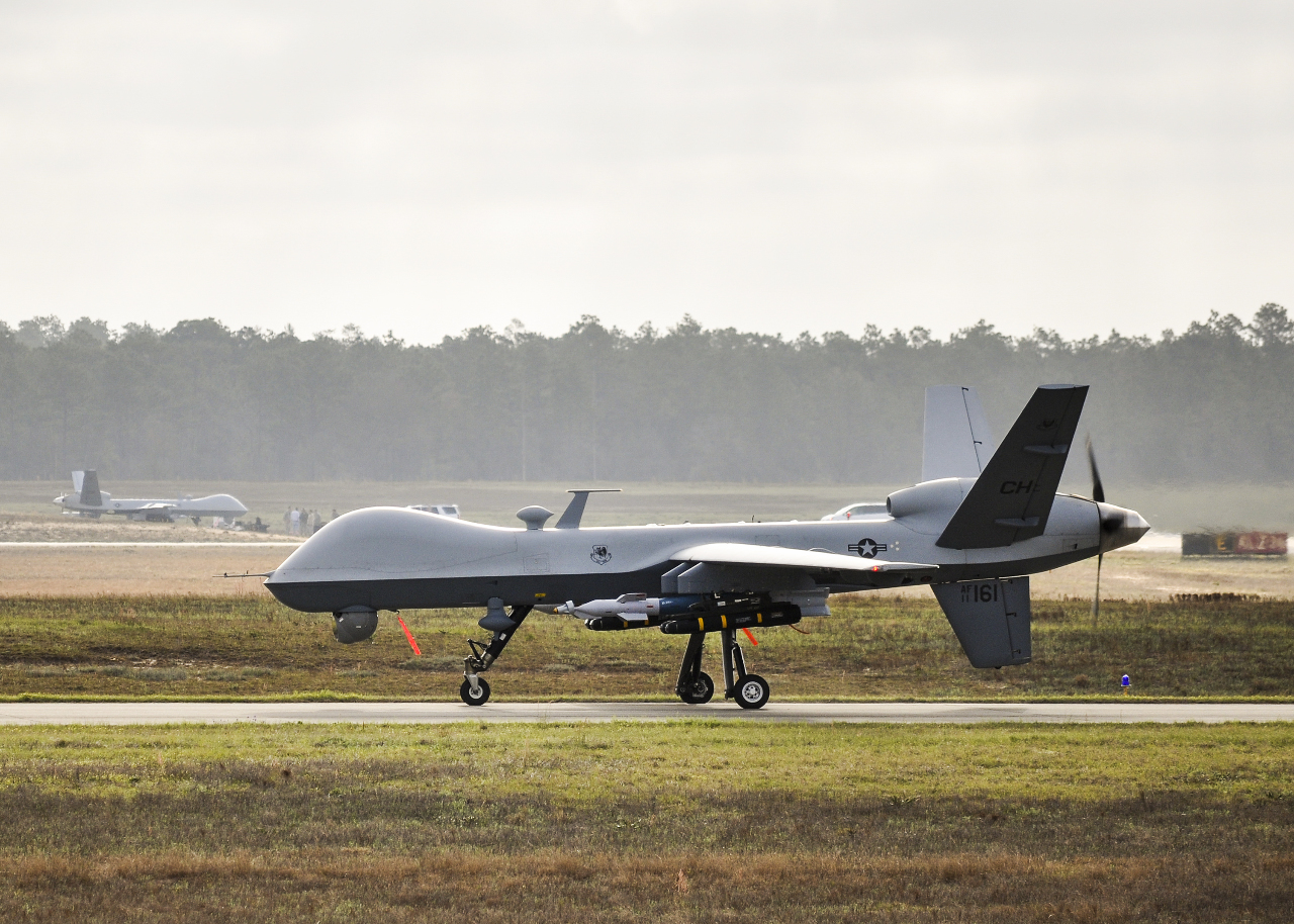 USAF Reapers go to sea