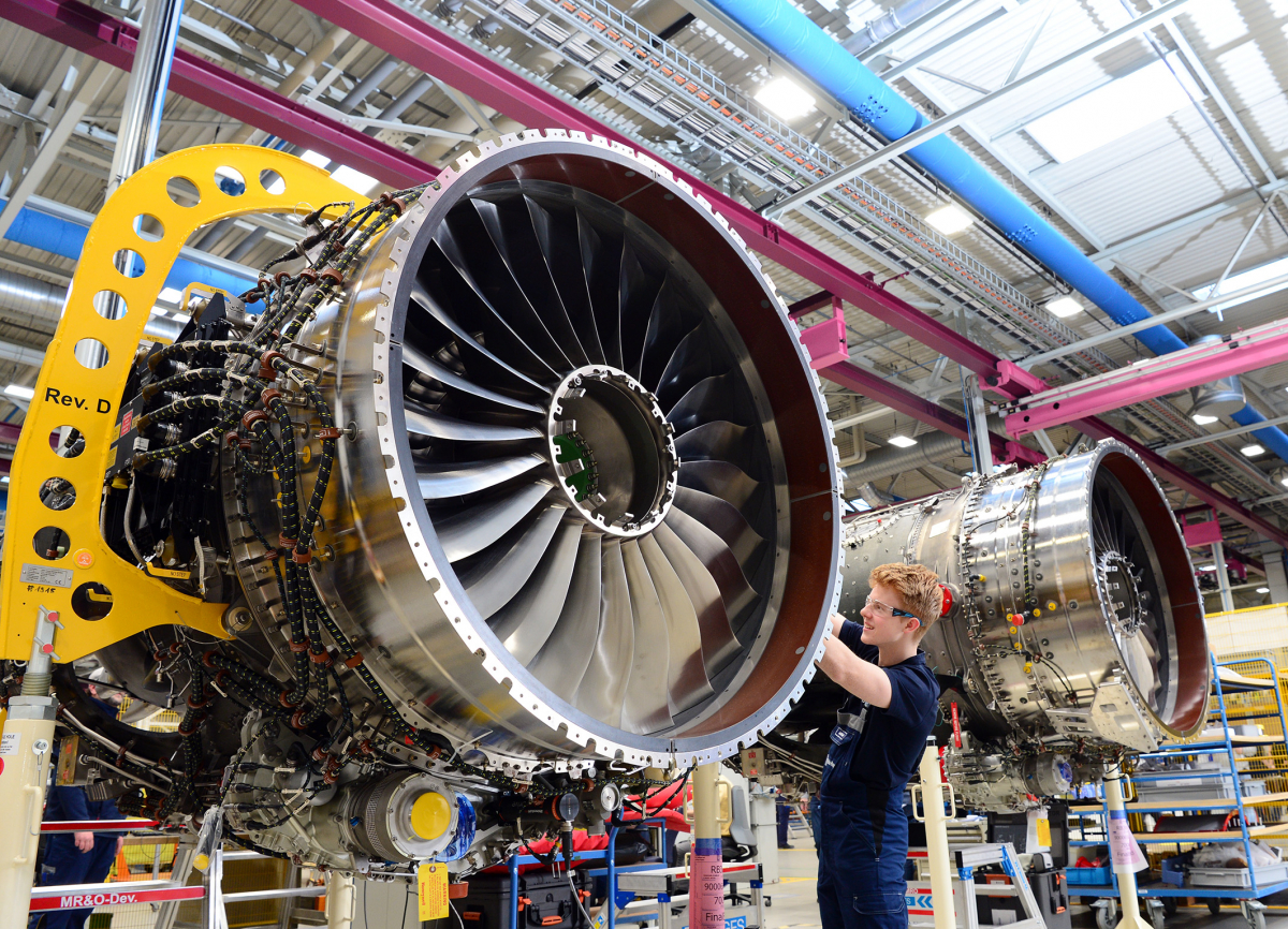 Liebherr-Aerospace supplies Rolls-Royce with pneumatic valves for new business jet engine