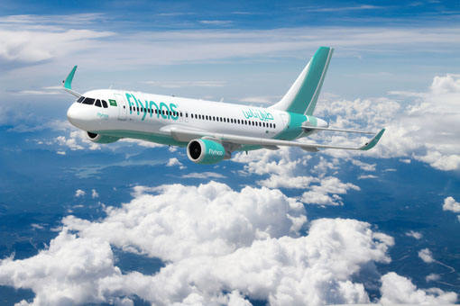Flynas orders 60 Airbus A320neo aircraft
