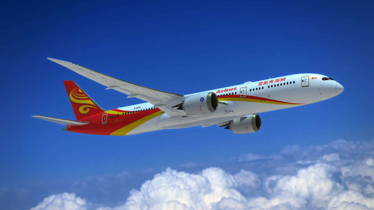 Hainan Airlines receives first Boeing 787-9
