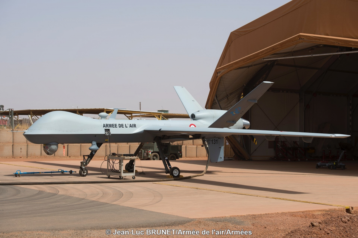 First test fire for French UAVs
