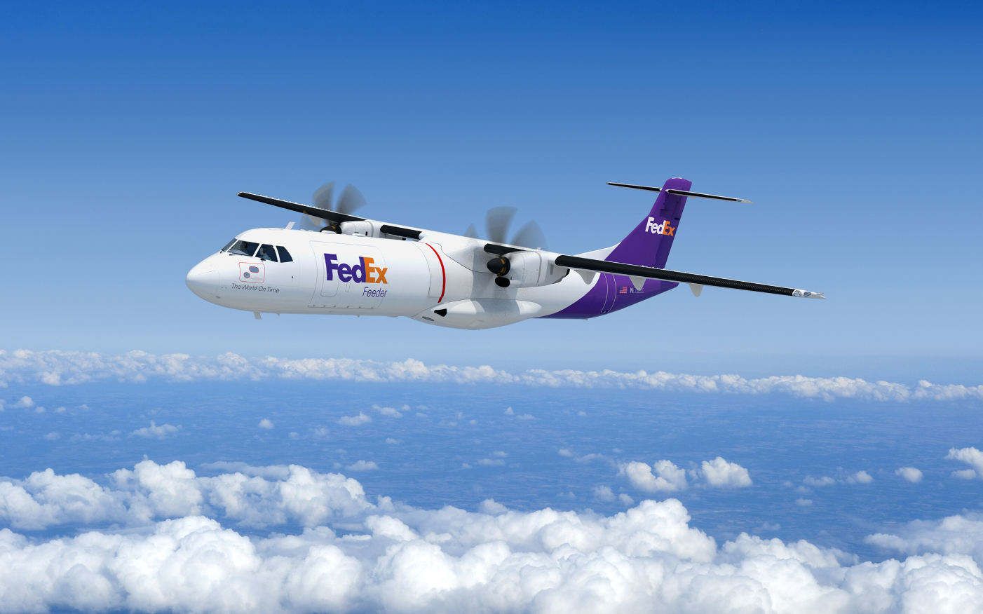 FedEx Express buys up to 50 ATR 72-600F freighters