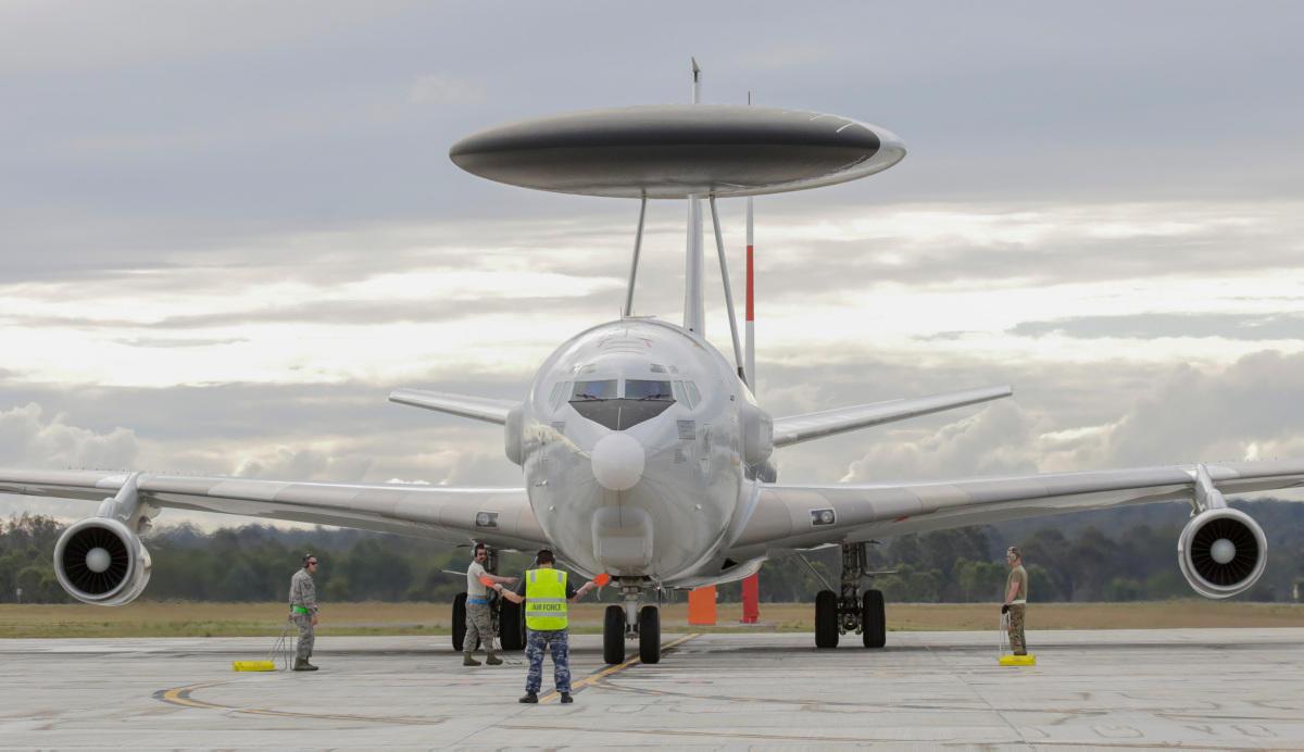 Boeing E-3C Sentry.