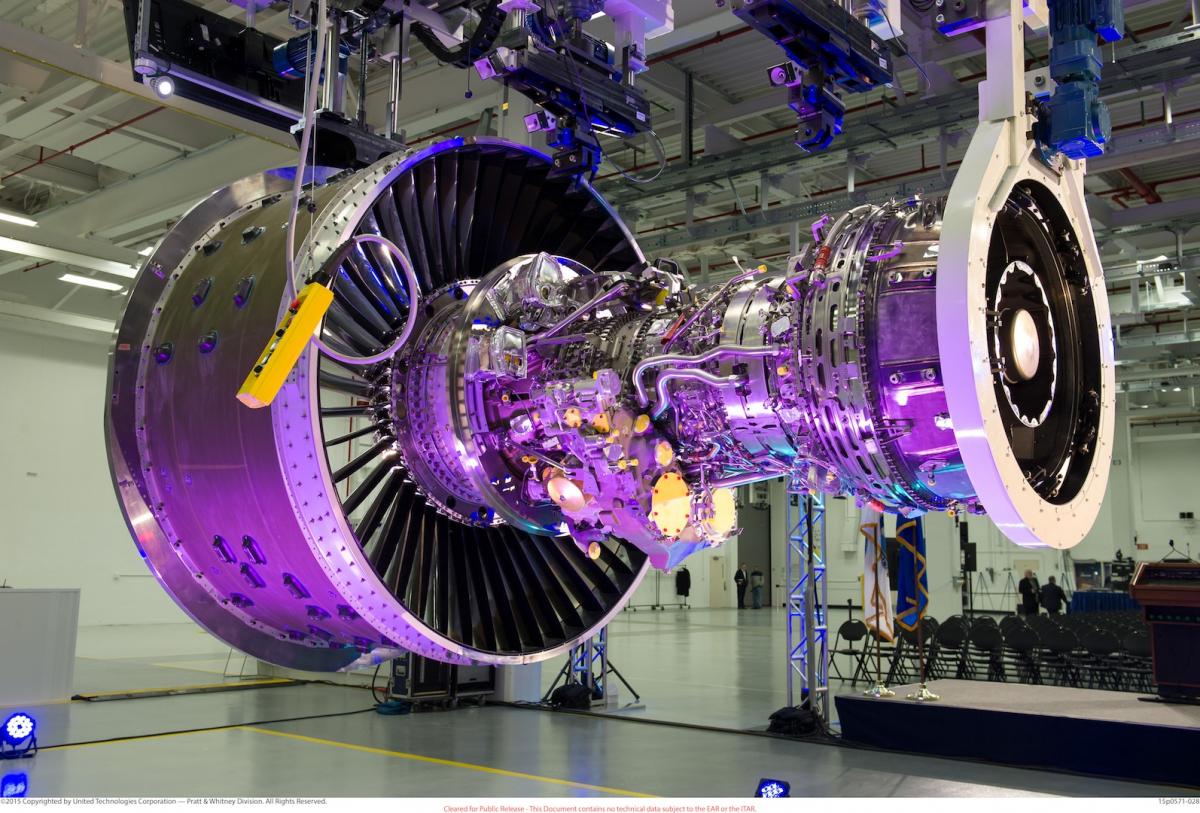 Lisi Aerospace on the Pratt & Whitney GTF