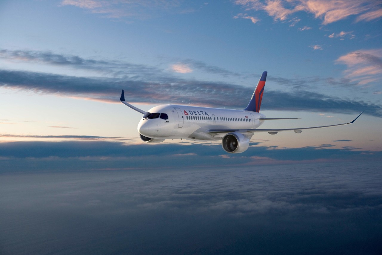 "Delta pursues ""green"" fleet goals with Bombardier CSeries"