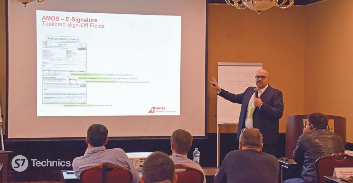 S7 Technics and IATA focuses on the digitalisation of aircraft operations