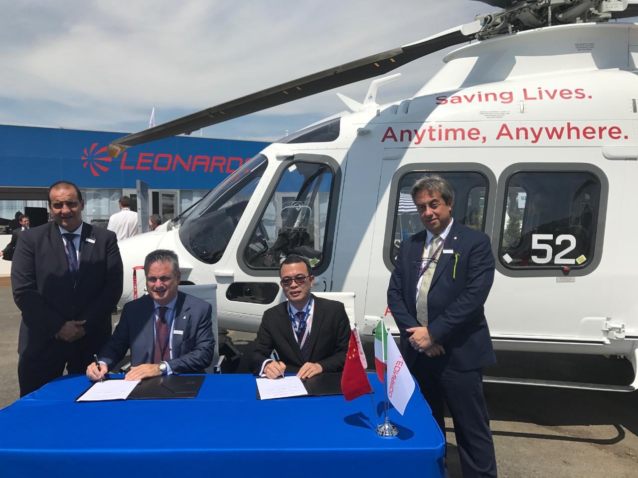 Paris 2017: Leonardo signs Chinese helicopter deal