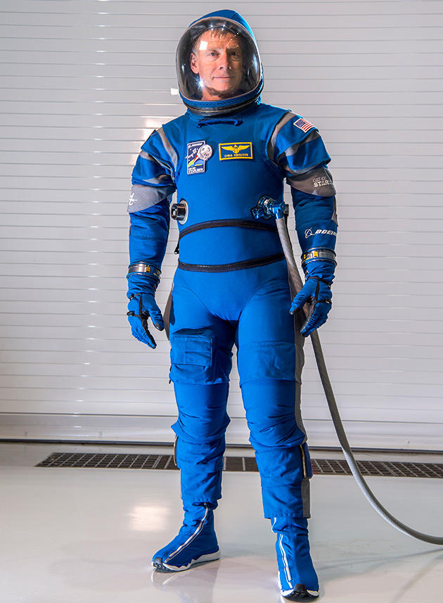 Boeing unveils Starliner spacesuit