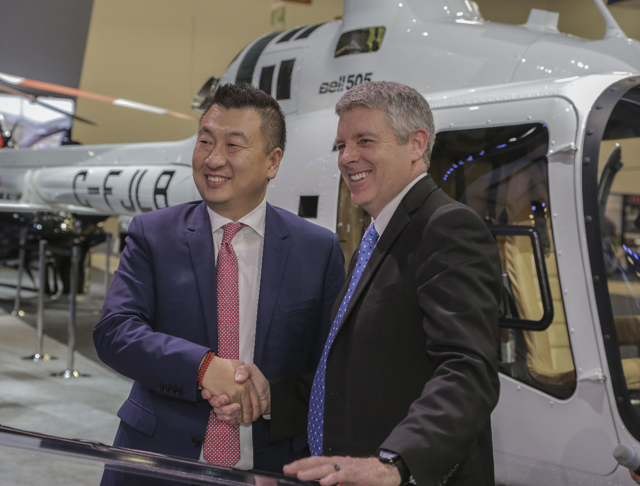 China's Reignwood to become largest Bell 505 operator