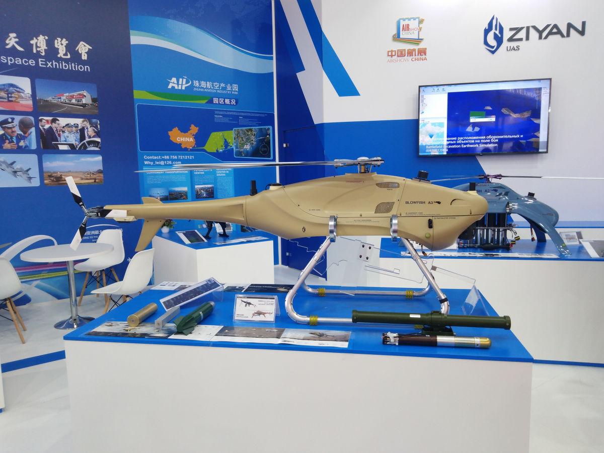 MAKS 2019: Ziyan's UAV Blowfish A3