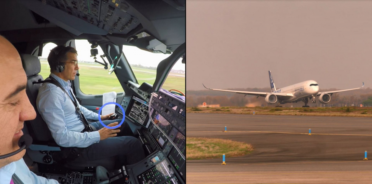 Airbus successfully tested its first fully automatic vision-based take-off