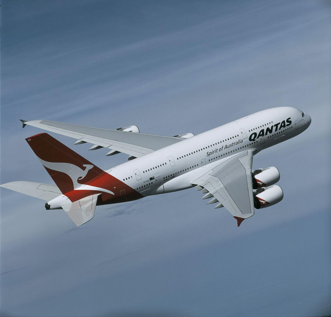 Qantas reports record profit